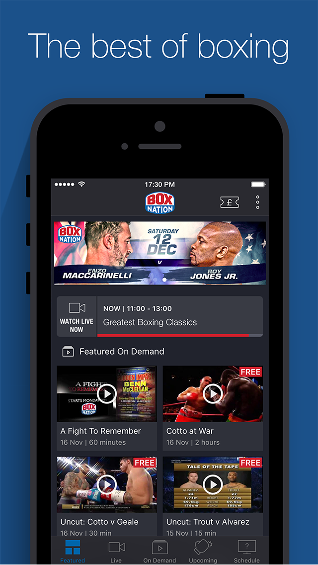 BoxNation, Featured